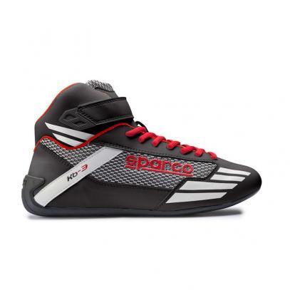 Sparco boty MERCURY KB-3 (černé s červenou, 39)