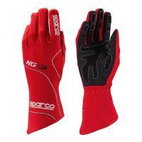 Sparco rukavice BLIZZARD KG-3 (červené, velikost 4)