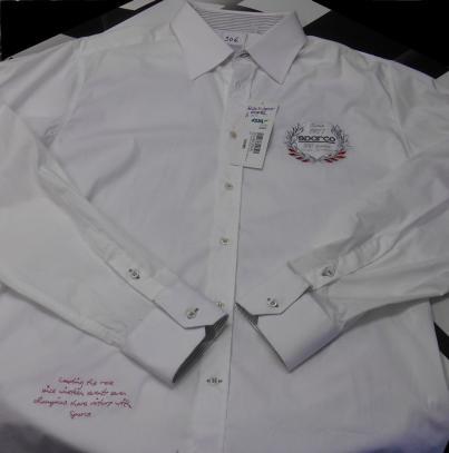 Košile Sparco dlouhý rukáv (bílá, XL)