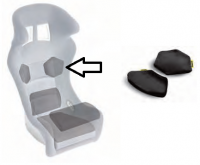 Sabelt polštář sedačky - ramena