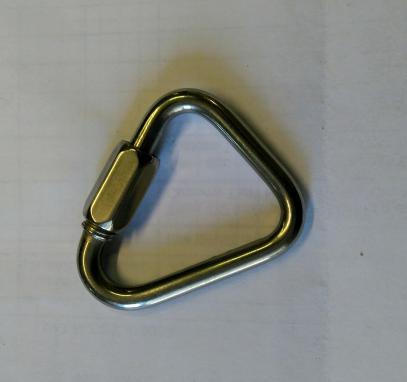 Přezka na pásy - triangl
