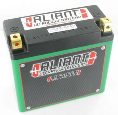 ALIANT X4 startovací baterie