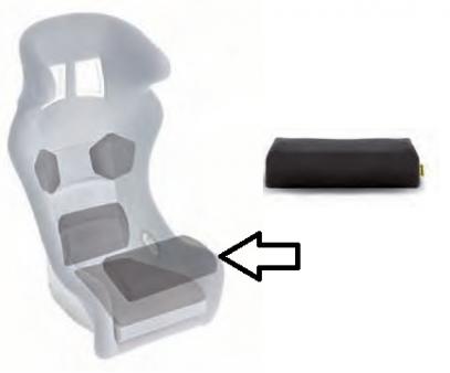 Sabelt polštář sedačky - nohy