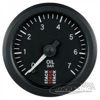 STACK elektrický ukazatel Profesional ST3301 - tlak oleje 0 - 7 bar