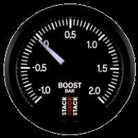 STACK mechanický ukazatel  ST3111 - tlak turba -1,0 až +2,0 bar