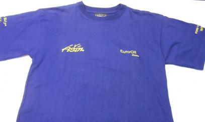 Tričko EuroOil Ašín (tmavě modrá, S)