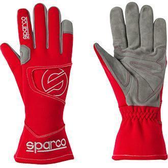 Sparco rukavice HURRICANE (červené)
