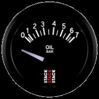 STACK elektrický ukazatel  ST3201 - tlak oleje do 7 bar
