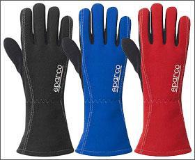 Sparco rukavice LAND (červené, 9)