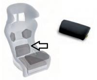Sabelt polštář sedačky - bederní