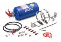Sparco hasicí systém 4 l (ocel, mechanický)