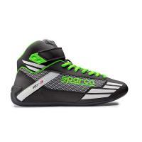 Sparco boty MERCURY KB-3 (černé se zelenou)