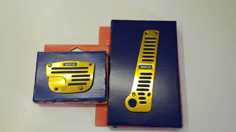 Pedály Sparco GOLD na automatickou převodovku