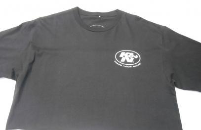 Tričko KN s krátkým rukávem (černá, XL)