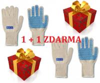 Sparco pracovní rukavice NOMEX dlouhé 1+1 zdarma