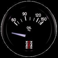 STACK elektrický ukazatel  ST3209 - teplota oleje 60 - 150 °C