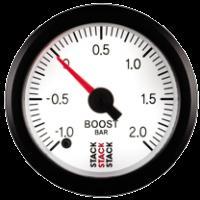 STACK mechanický ukazatel  ST3161 - tlak turba  -1 až +2 bar