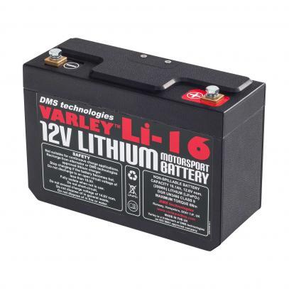 RED TOP Li-16 startovací baterie