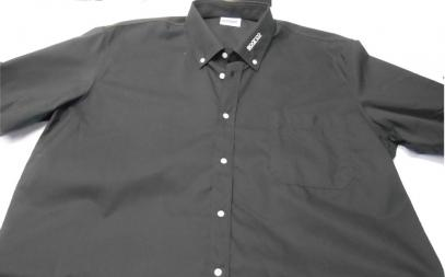 Košile Sparco krátký rukáv (černá, XXL)