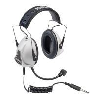 Sparco CTI-300 přejezdová sluchátka k IS-110