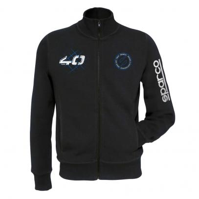Sparco mikina FULL ZIP 40TH