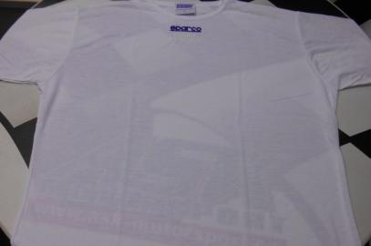 Tričko Sparco Coolmax krátký rukáv (bílé, L)