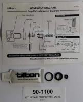Sada pro opravu ventilu TILTON