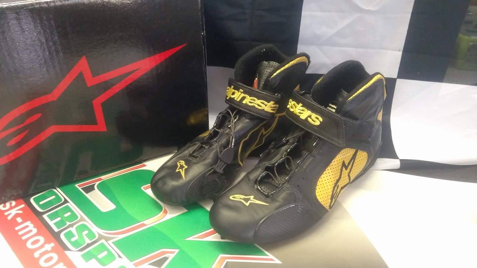 AlpineStar boty kožené (39-40 GOLD/NR)