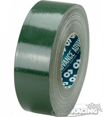 Textilní lepicí páska 5 cm/50 m (tmavě zelená)