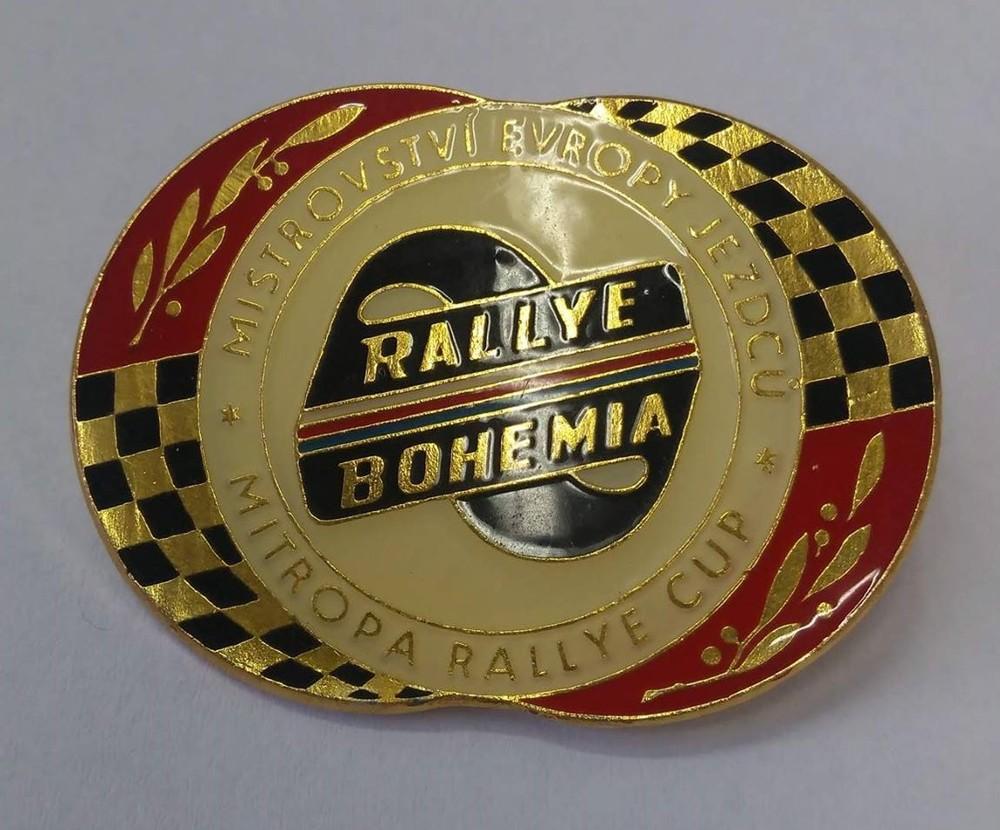 Rally Bohemia odznak