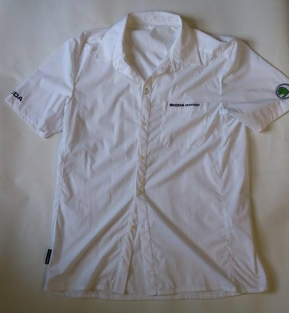 Škoda Motorsport - košile s krátkým rukávem