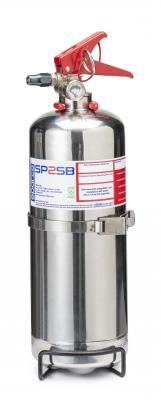 Sparco ruční hasicí přístroj 2 l (NOVEC 1230, ocel)