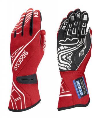 Sparco rukavice LAP RG-5 (červené, vel. 10)