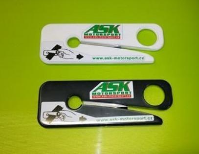Nůž na bezpečnostní pásy (černý) - dle FIA