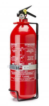 Sparco ruční hasicí přístroj 2kg (ABC, ocel) vč. držáku