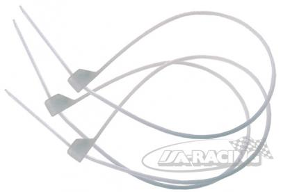 Stahovací páska Ty-Rap 90 x 2,5 mm s kovovým pojistným pérkem