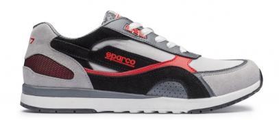 Sparco boty SH-17 (43, černé s červenou)