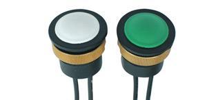 Vodotěsné tlačítko na volant průměr 16 mm