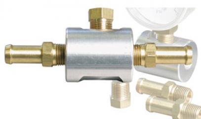 Průběžný ukazatel tlaku - adaptér (váleček) Al