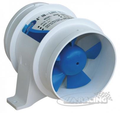 Ventilátor Turbo 4000 blower průměr 101 mm