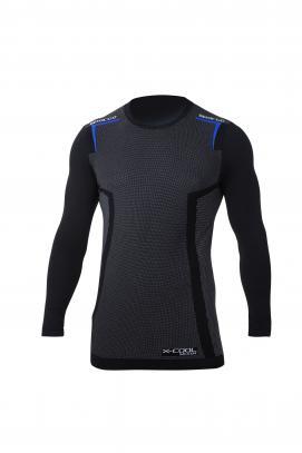 Sparco tričko K-CARBON X-Cool dlouhý rukáv