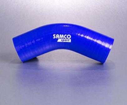 SAMCO silikonové koleno 45°/60° - průměr 76 mm