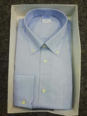 Sparco košile s dlouhým rukávem (světle fialová, vel. S)