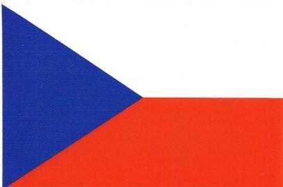 Samolepka vlajka ČR 6 x 9 cm