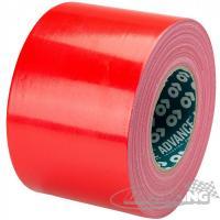 Textilní lepicí páska 10 cm/50 m (červená)