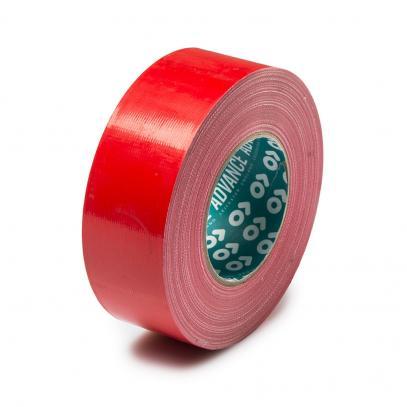 Textilní lepicí páska 5 cm/50 m (červená)