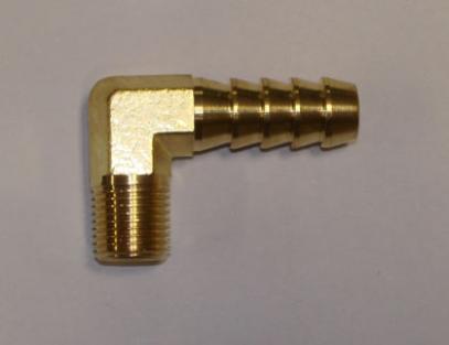 FACET redukce 90º (1/8 NPT x průměr 8 mm)