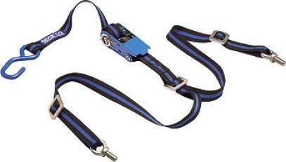 Sparco držák rezervy modro-černý (kurta)