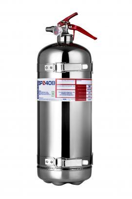 Sparco ruční hasicí přístroj 2,4 l (AFFF, ocel) včetně držáku