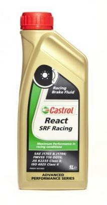 Castrol REACT SRF Racing Brake Fluid - brzdová kapalina 1 l